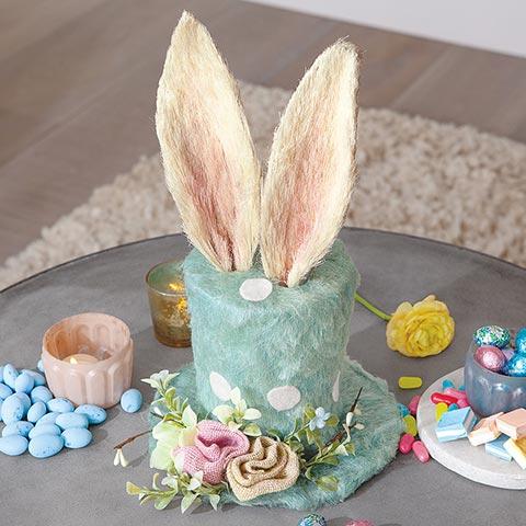Bunny Ears Top Hat