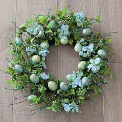 Egg & Fleur Wreath