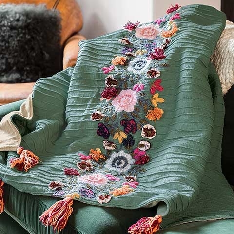 Elysian Fields Throw