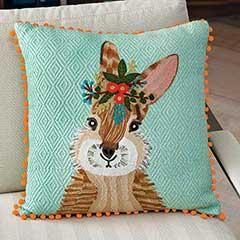 Blossom Bunny Pillow