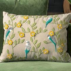 Finch & Buttercup Pillow