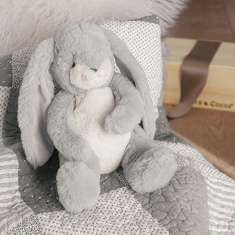 Heirloom Bunny & Baby Quilt