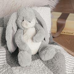 Heirloom Bunny & Baby Quilt