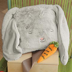 Snuggle Bunny Blankie & Carrot Rattle