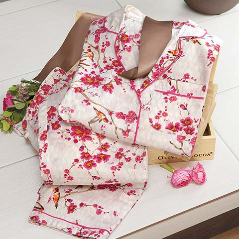 Sweet Blossoms Pajama Set