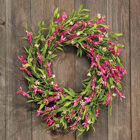 Wildflower Blooms Wreath