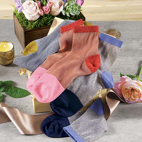 Sparkly Socks Crate
