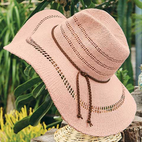 Blush Summer Hat
