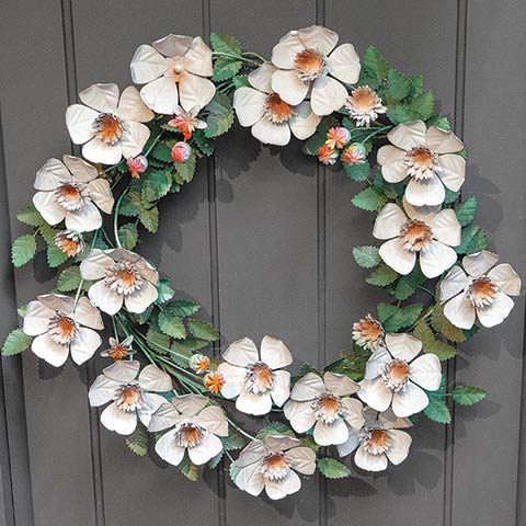 Savannah Metal Wreath