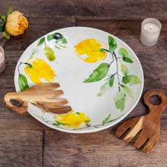 Citron Server & Salad Hands