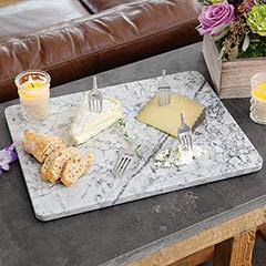 Marble Board & Cheese Forks