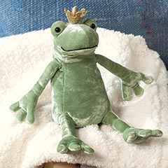 Royal Froggy & Blankie
