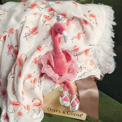 Flamingo Princess & Swaddle