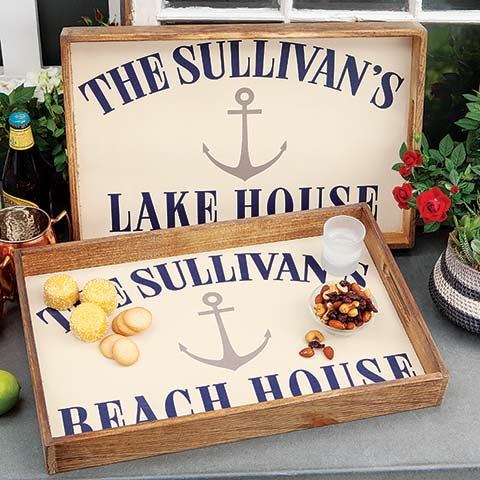 Customized Nautical Tray