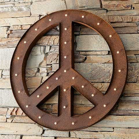 Grande Lit Peace Sign