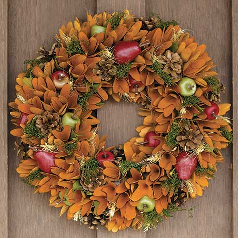 Autumnal Equinox Wreath