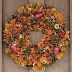 Autumnal Equinox Wreath