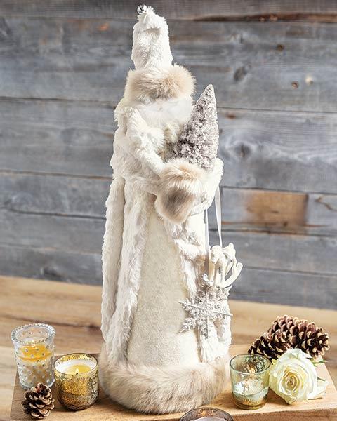 Snowy White Santa