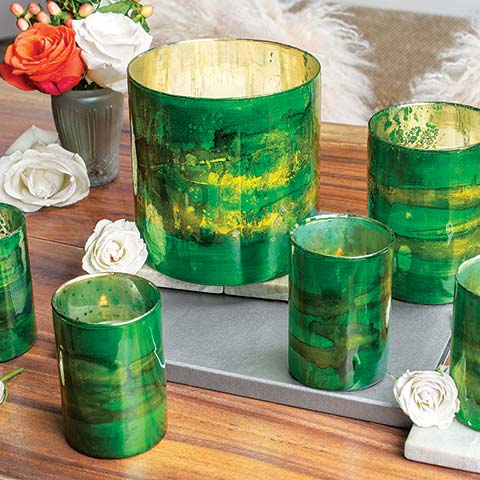 Emerald Dreams Votives