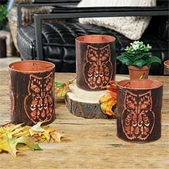 Midnight Owl Votives