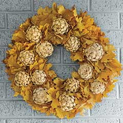 Artichoke Harvest Wreath