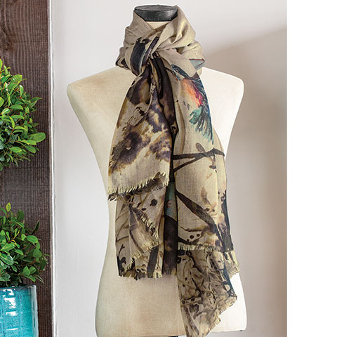 Winged Wonders Scarf