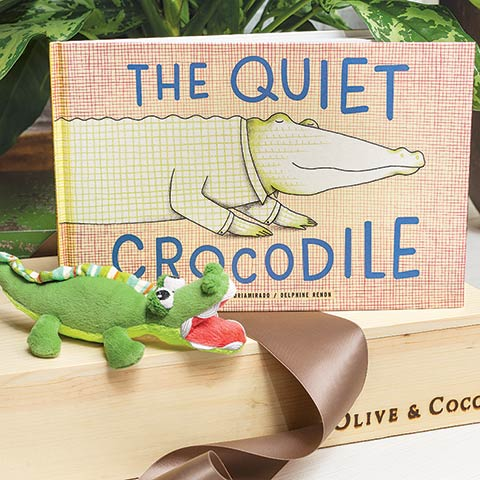Crocodile Rattle & Storybook