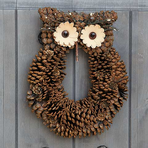 Little Hoot Owl Wreath