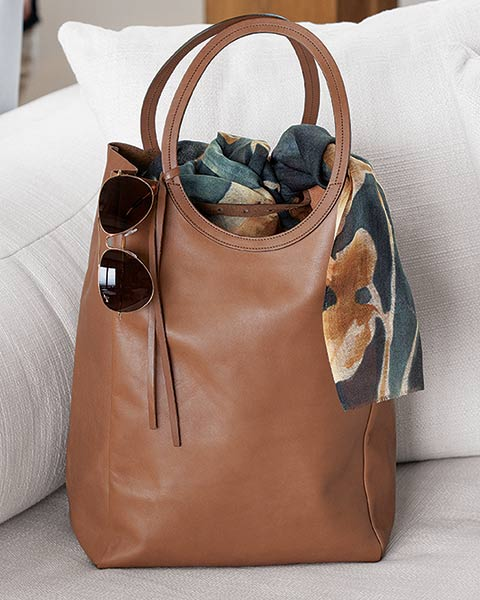 Cirque Leather Tote