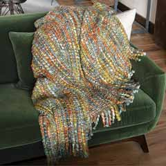 Chunky Fringed Throw