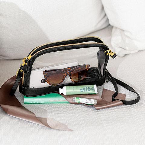 Breezeway Clear Handbag