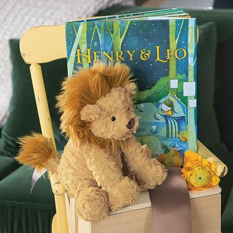 Lenny Lion & Storybook
