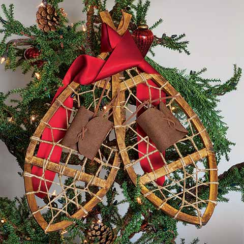 Decorative Snowshoes