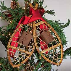 Decorative Snowshoes