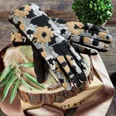 Fleur Embroidered Gloves