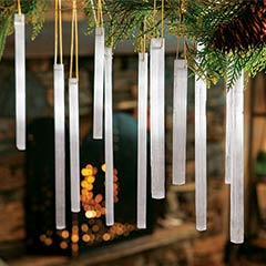 Icelandic Selenite Ornaments