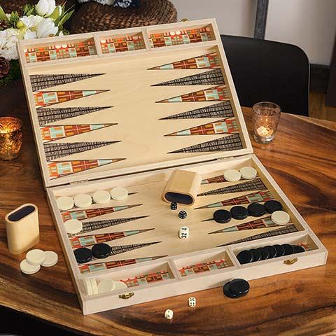 Herman Backgammon Set