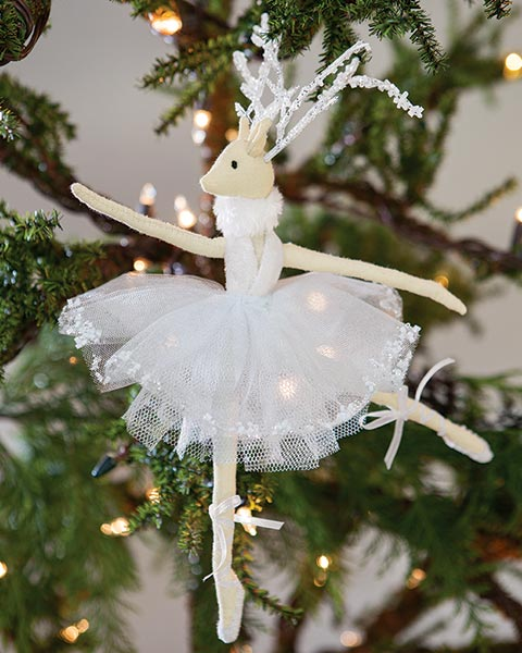 Dancing Deer Ornament
