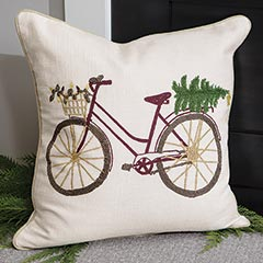 Evergreen Ride-along Pillow