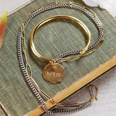 Loved Wrap Charm Bracelet