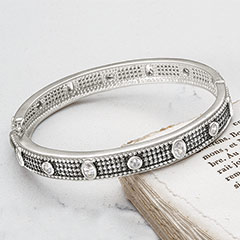 Eternity Hinge Bangle
