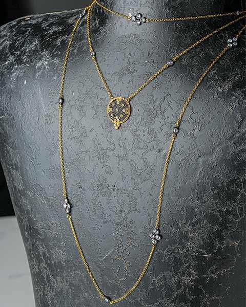 Clover Fleur Necklace Set