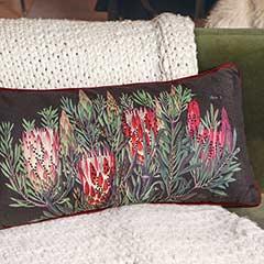 Elegant Protea Pillow
