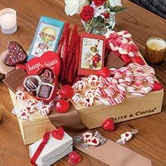 Vintage Valentine Goodie Crate
