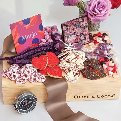 Sweet Sentiments Gourmet Crate