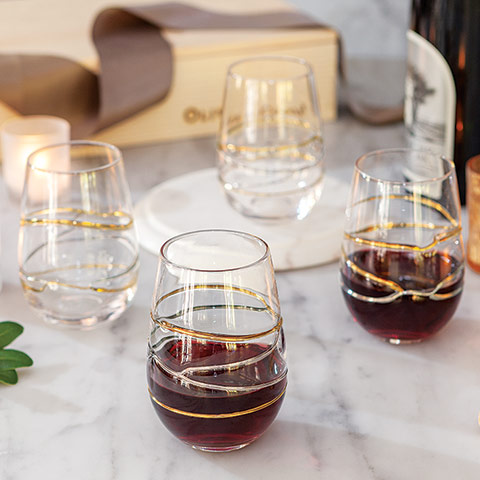 Gallery Stemless Glassware