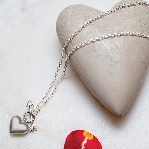 On-the-mark Heart Pendant