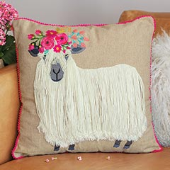 Highlander Sheep Pillow