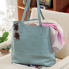 Varenna Leather Tote