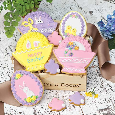 Easter Basket Cookie Crate